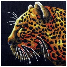 Country Threads Long Stitch Kit - CHEETAH 30X30CM